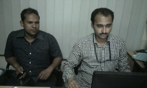 Mr. Minnat and Md. Shoidul Islam of Zia Hart Hospital